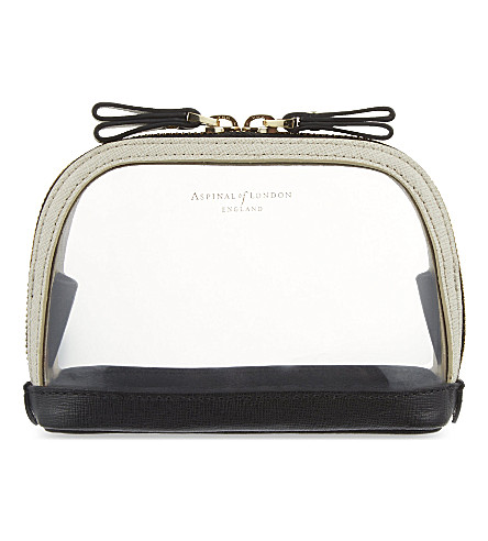 ASPINAL OF LONDON Hepburn small cosmetic case (Clear