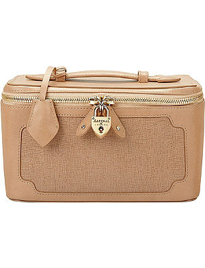 ASPINAL OF LONDON Marylebone leather cosmetic case