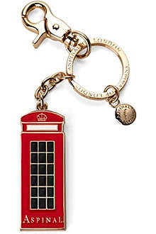 ASPINAL London Phone Box key ring