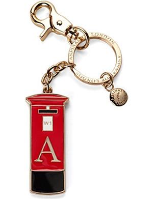 ASPINAL OF LONDON London Post Box key ring