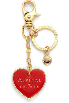 ASPINAL Heart key ring