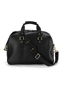 ASPINAL W.2. textured leather holdall