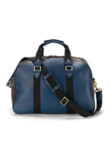 ASPINAL OF LONDON W.2. textured leather holdall