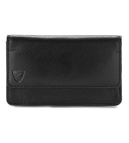 ASPINAL OF LONDON 商业和信用卡皮套 (黑色