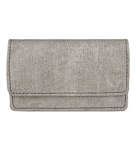 ASPINAL OF LONDON Business and credit card case (Grey