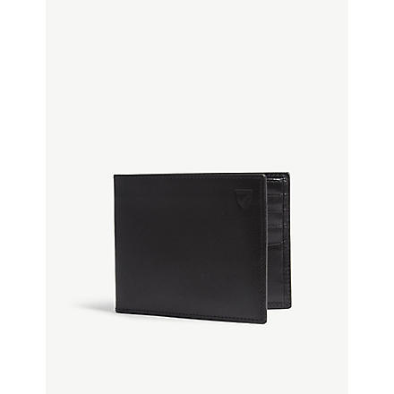 ASPINAL Billfold wallet (Black