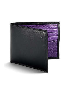 ASPINAL OF LONDON Exotic billfold wallet