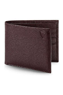 ASPINAL Saffiano leather billfold wallet