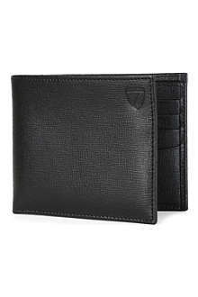ASPINAL Large saffiano leather ID wallet