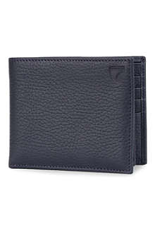 ASPINAL OF LONDON Large saffiano leather ID wallet