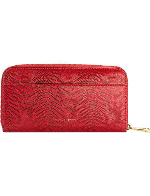 ASPINAL OF LONDON Continental calf-leather clutch wallet