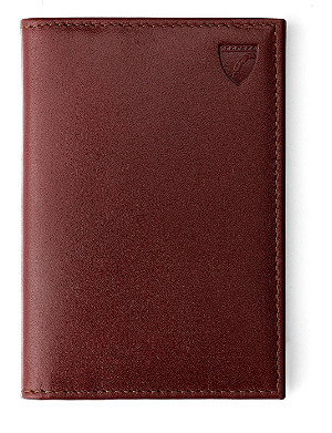 ASPINAL OF LONDON Double credit card case cognac brown