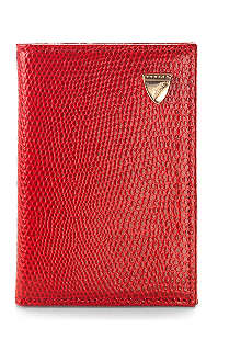 ASPINAL OF LONDON Double fold credit card case
