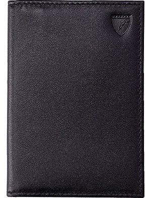 ASPINAL OF LONDON Exotic double-fold credit card case