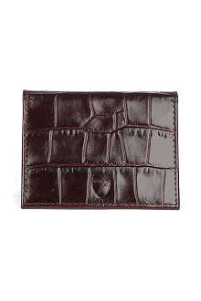 ASPINAL OF LONDON ID and travel card wallet