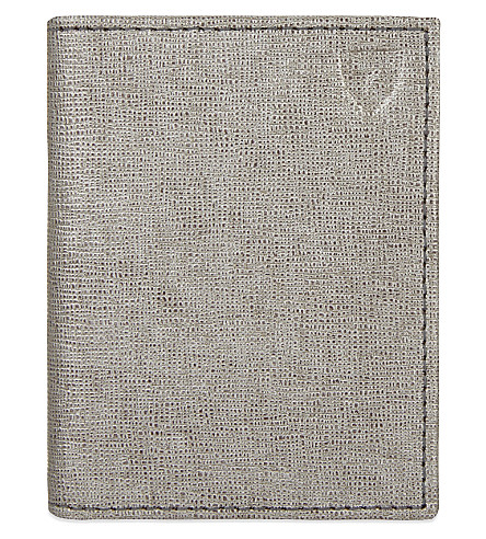 ASPINAL OF LONDON ID & travel card case (Grey