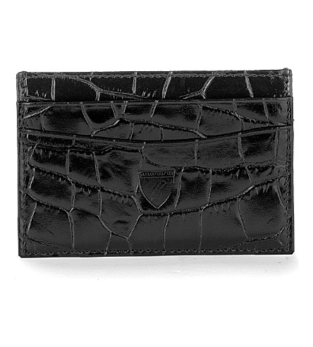 ASPINAL OF LONDON Slim credit card leather case