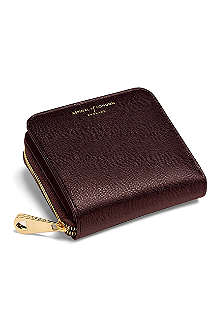 ASPINAL OF LONDON Mini Continental leather coin purse