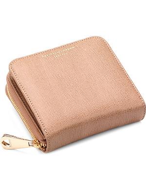 ASPINAL OF LONDON Mini continental leather cloin purse