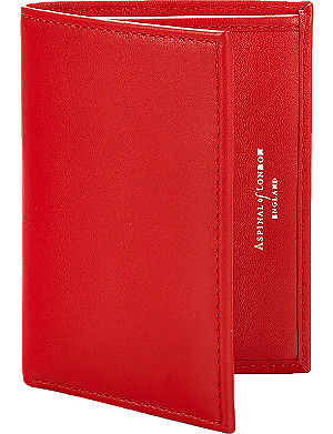 ASPINAL OF LONDON Double credit card case with note pocket