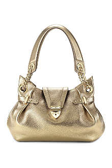 ASPINAL Barbarella textured leather shoulder bag