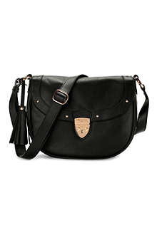 ASPINAL Portobello cross-body saddle bag