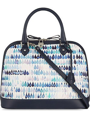 ASPINAL OF LONDON Hepburn raindrop leather tote