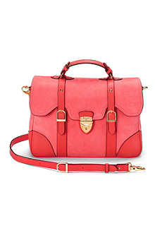 ASPINAL Mollie leather satchel