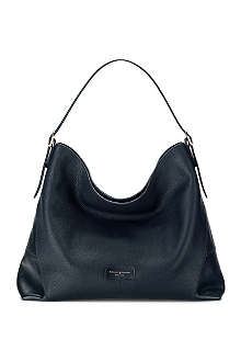 ASPINAL Pebbled leather hobo