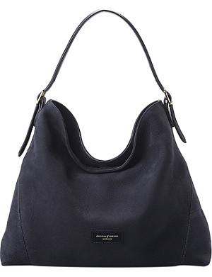 ASPINAL OF LONDON Nubuck leather Hobo Bag
