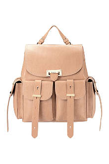 ASPINAL Letterbox leather backpack