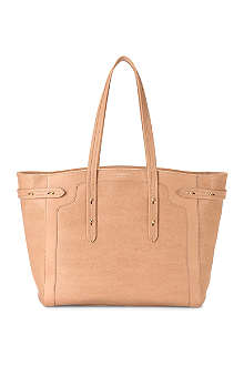 ASPINAL OF LONDON Marylebone Light saffiano leather tote bag