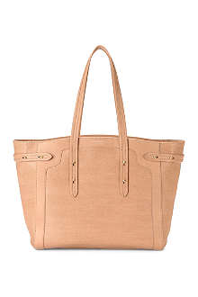 ASPINAL Marylebone Light saffiano leather tote bag