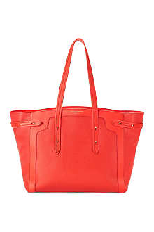 ASPINAL Marylebone Light leather tote bag