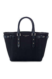 ASPINAL OF LONDON Marylebone mini Nubuck leather tote