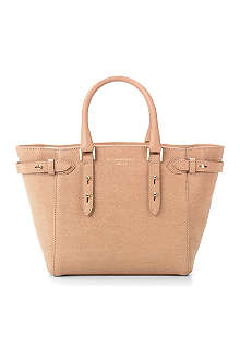 ASPINAL Marylebone mini saffiano leather tote