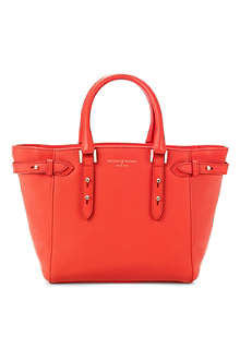 ASPINAL Marylebone mini pebbled leather tote