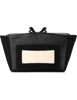 ASPINAL OF LONDON Marylebone leather clutch bag