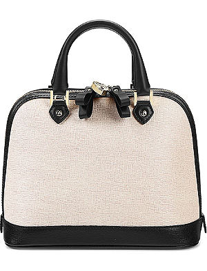 ASPINAL OF LONDON Hepburn mini saffiano-leather tote