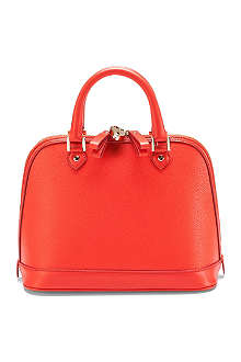ASPINAL Mini Hepburn pebbled leather tote