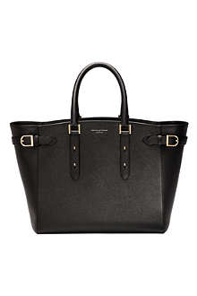 ASPINAL OF LONDON Marylebone Tech leather tote