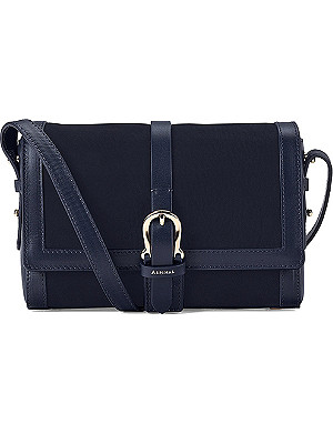 ASPINAL OF LONDON The Mini Shoulder Buckle calf-leather bag