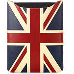 ASPINAL Brit leather iPad sleeve