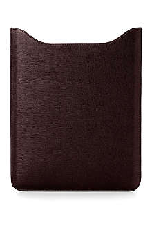 ASPINAL Saffiano leather iPad sleeve with retina display