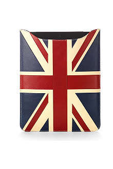 ASPINAL OF LONDON Brit leather iPad with Retina Display sleeve