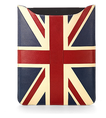 ASPINAL OF LONDON Brit ipad retina sleeve (Brit