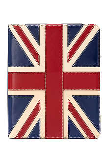 ASPINAL OF LONDON Brit leather iPad 3 Stand-Up case