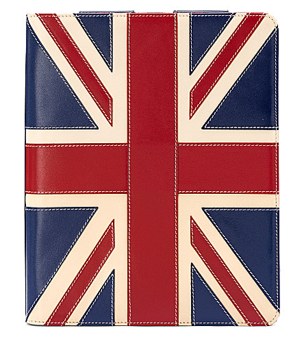 ASPINAL OF LONDON Brit ipad retina stand-up case (Multi