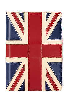 ASPINAL OF LONDON Brit leather iPad Mini Stand-up case
