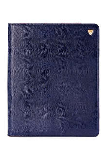 ASPINAL iPad 3 lizard-print leather Stand-Up case